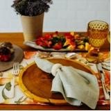 aluguel de sousplat rústico para pratos Pompéia