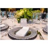 aluguel de utensílios para mesa de casamento Itapecerica da Serra