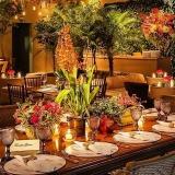 locação de souplat para decoração de casamento Cantareira