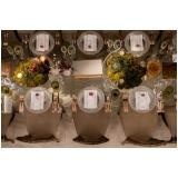 onde encontro utensílios de mesa para jantar de noivado Luz