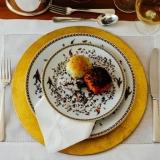 quanto custa locação de sousplat em cobre para jantar temático Alto do Pari