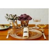 sousplat em cristal para jantar clássico Ipiranga