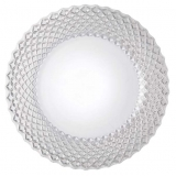 sousplat em cristal para jantar sofisticado Jaraguá