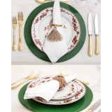utensílios de mesa para jantar romântico preço Sacomã