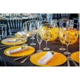 utensílios decorativos para mesa de jantar romântico Santa Isabel