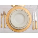 utensílios para mesa de casamento valor Bairro do Limão