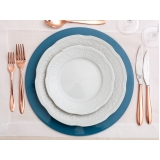 utensílios para mesa de jantar em família preço Parque Residencial da Lapa