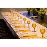 utensílios para mesa de jantar noivado preço Santa Cecília