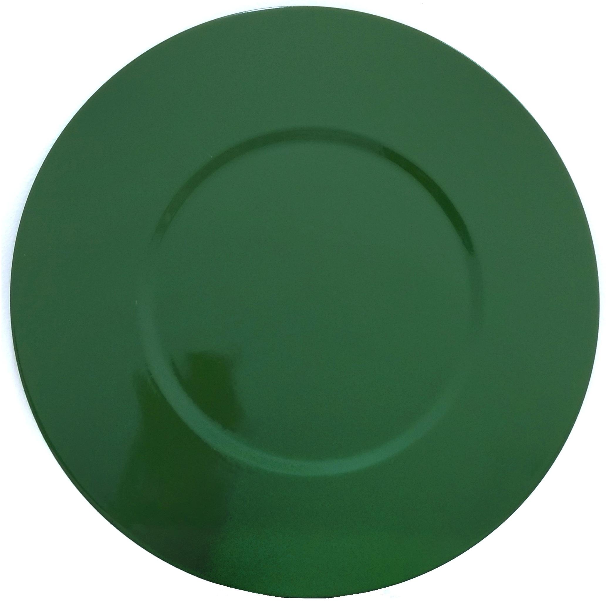 Verde Military Aluguel de sousplat